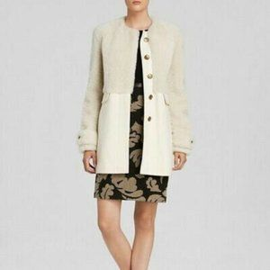 Burberry Brit Bedwyn Shearling  Cashmere Coat 2